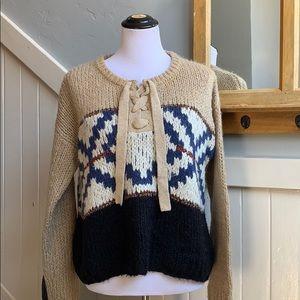 Scotch and Soda Southwestern Knit Sweater